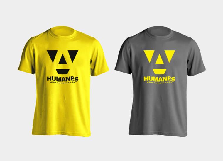 proceso camisetas humanes