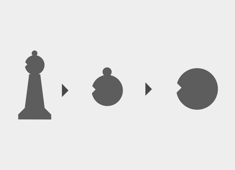 proceso simbolo alfilpack
