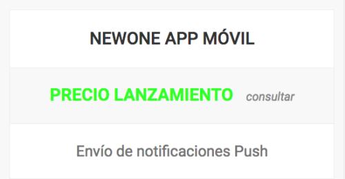 newone app movil shop
