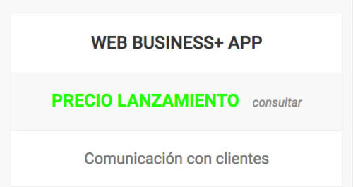 web business app shop