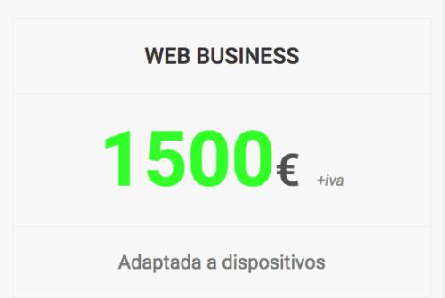 web business shop